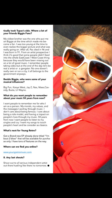 Rapp Weekly iPhone Screenshot 3