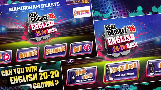 Real Cricket™ 16: English Bash Screenshot