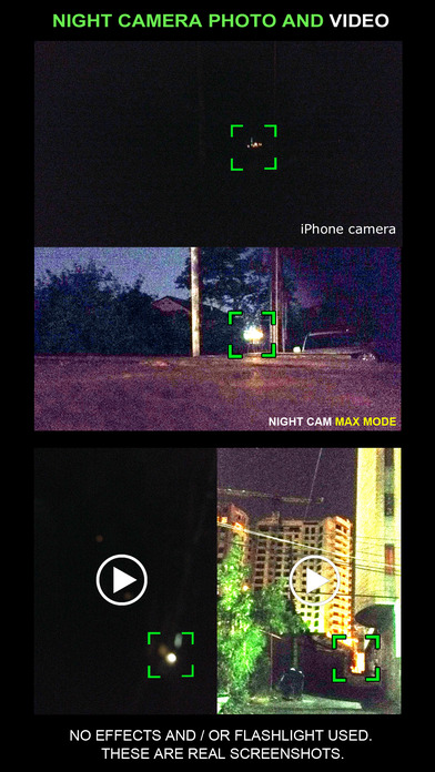 Night Camera -night vision photo and video Screenshots