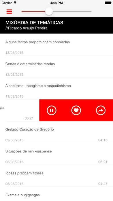 Radio Comercial iPhone Screenshot 4