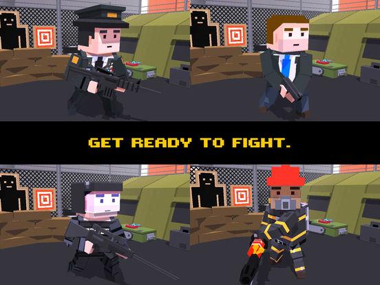 Скачать игру Cube Zombie War