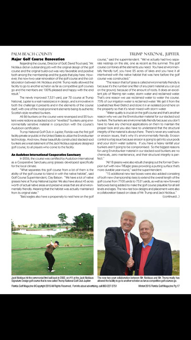 download Florida Golf Magazine apps 1