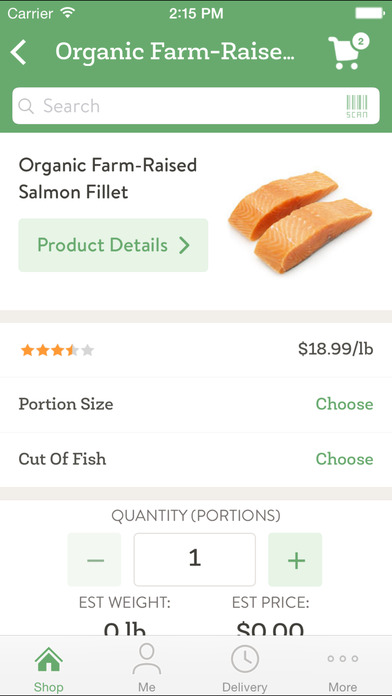 FreshDirect iPhone Screenshot 4