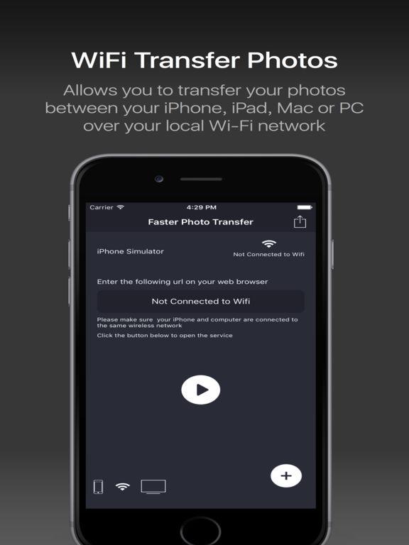 Photo Transfer Pro - share it wifi backup vault Screenshots