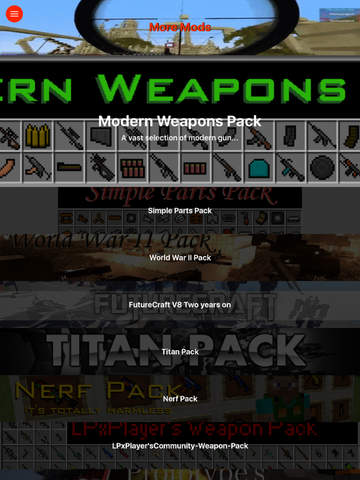 Vehicles & Weapons Mods for Minecraft PC Edition - Best Pocket Wiki & Tools for MCPC screenshot