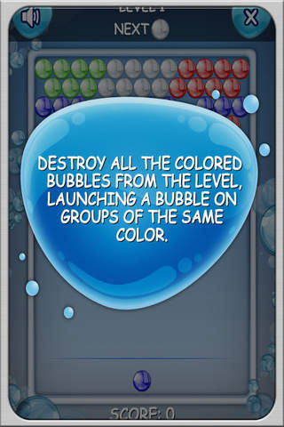 Bubble Shooter Colormatch Game screenshot 1