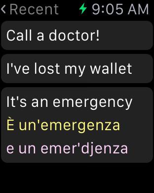 Italian Dictionary Free iPhone Screenshot 7