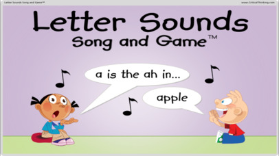 Letter Sounds Song and Game™ Screenshot