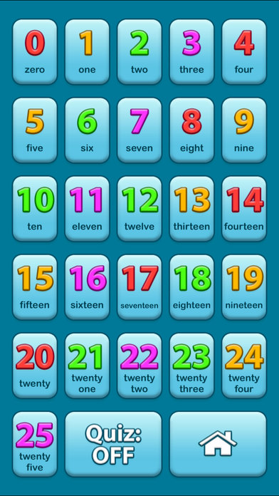 123 Audio Talking Baby Learning Numbers Game iPhone Screenshot 5