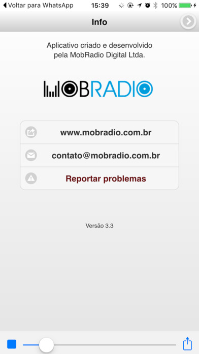 Belém FM / Pará / Brasil iPhone Screenshot 2