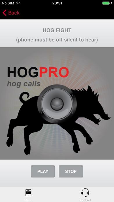 Screenshot for REAL Hog Calls - Hog Hunting Calls - Boar Calls in United States App Store