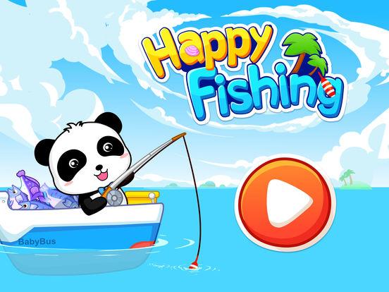 Happy Fishing: Game for children iPad Screenshot 5