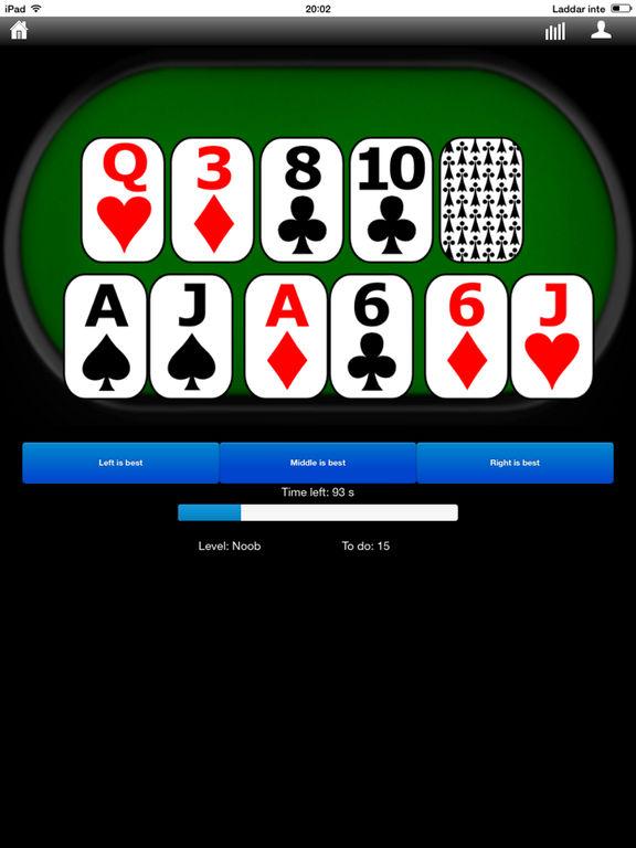 Poker Hands Trainer screenshot