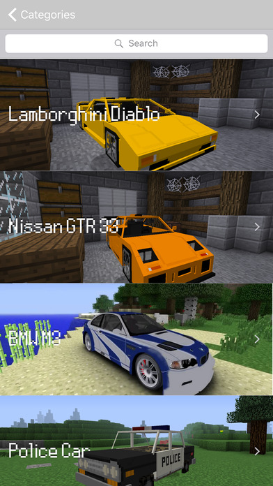 Cars Mod Free Reality Racing Car For Minecraft Game Pc Edition