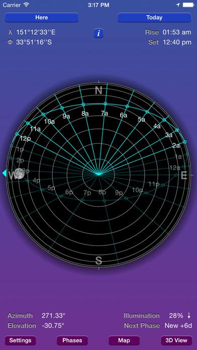 Moon Seeker iPhone Screenshot 1