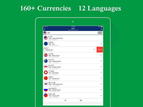 cRate Pro - Currency Convert, Calculator, Currency Exchange Rates Converter Screenshots