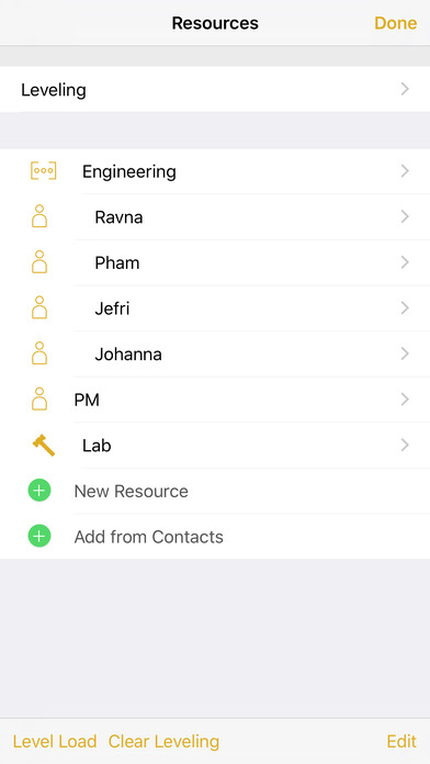 OmniPlan 3 Apps free for iPhone/iPad screenshot