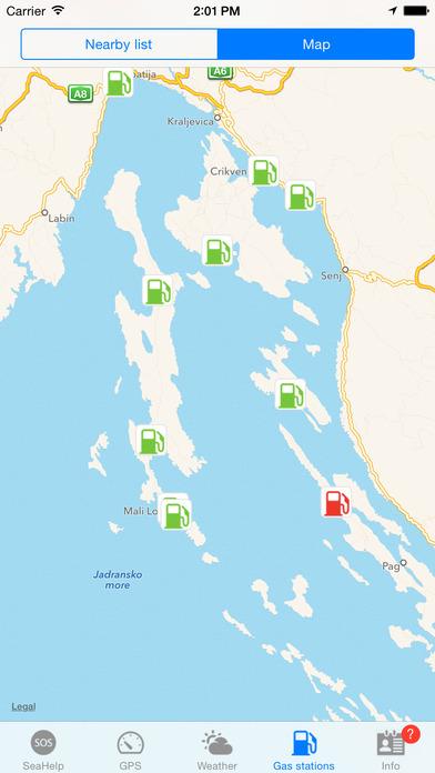 SeaHelp iPhone Screenshot 4