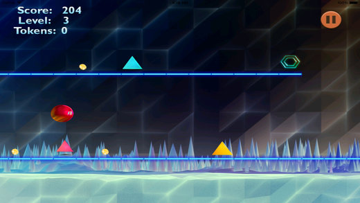 Jump Ball Chasing PRO - A Meltdown Geometry Escape Screenshot