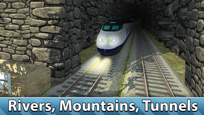 Europe Railway Train Simulator 3D Full screenshot 1