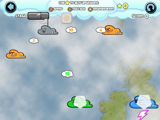 Cloud Wars Sunny Day Screenshots