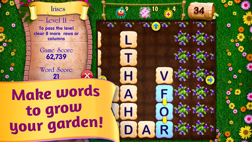 Letter Garden Let Your Genius Blossom FREE Word Search