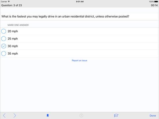 DMV Test Prep - Kansas iPad Screenshot 3