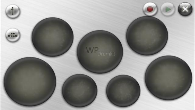 WP Drumkit - A virtual 3D and 2D Drumkit Screenshots