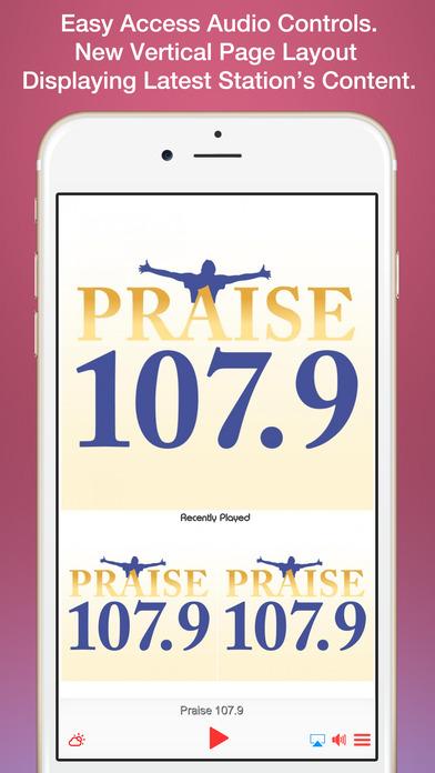 Praise 103.9 - Philadelphia iPhone Screenshot 1