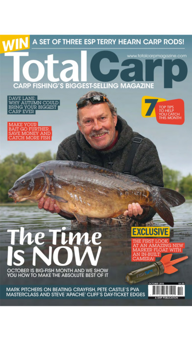 Total Carp Magazine iPhone Screenshot 1