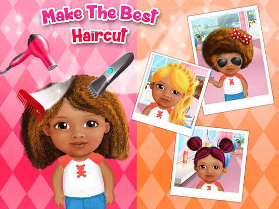 Игра Sweet Baby Girl Beauty Salon