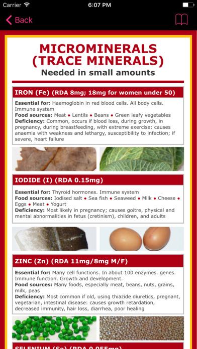 Selenium Counter & Tracker for Healthy Food Diets screenshot 4