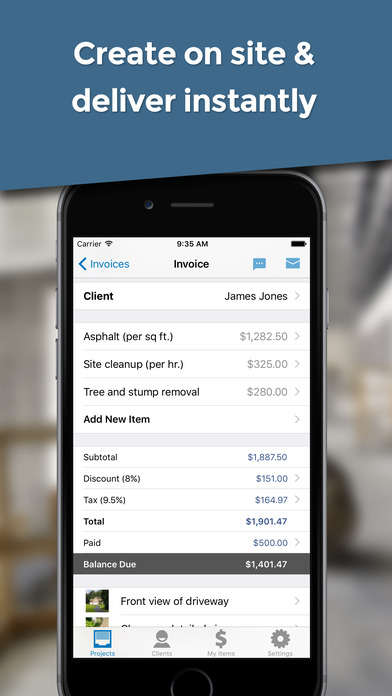 Invoice Simple - Invoice your customers in seconds app image