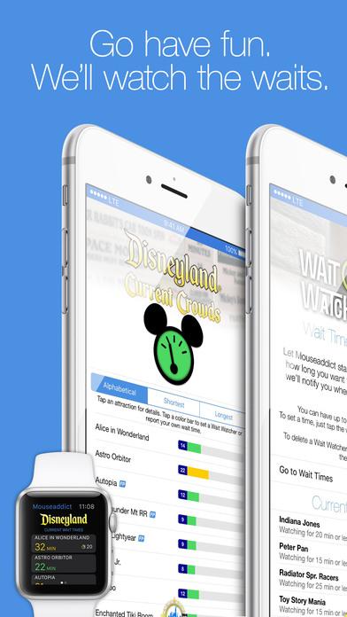 Disneyland MouseAddict iPhone Screenshot 1