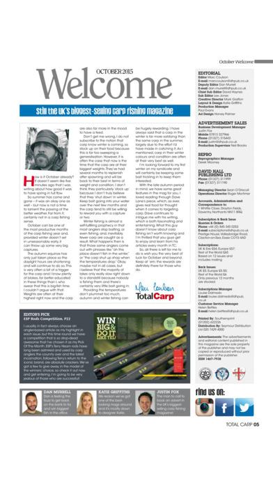 Total Carp Magazine iPhone Screenshot 2