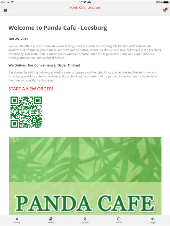 App Shopper: Panda Cafe - Leesburg (Food & Drink)