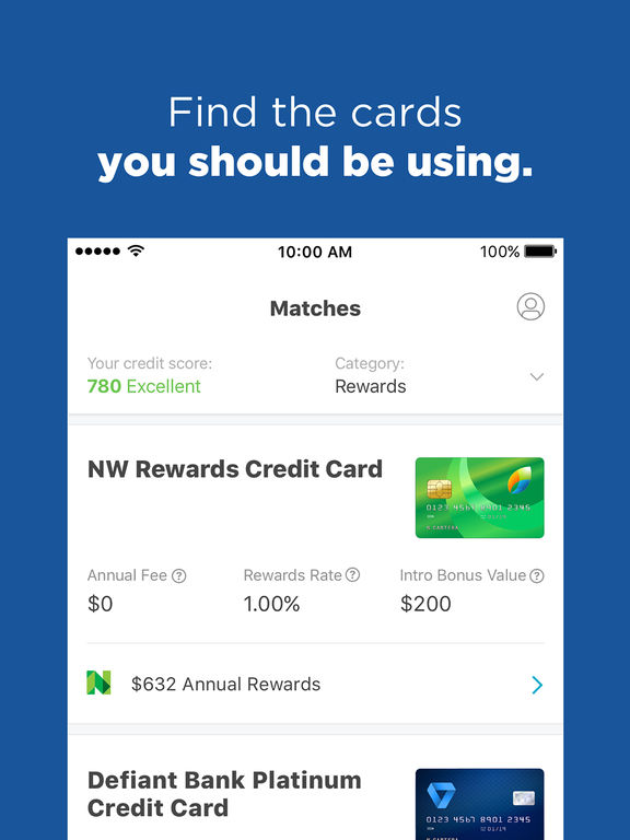App Shopper: NerdWallet - Credit cards, Free credit score (Finance)