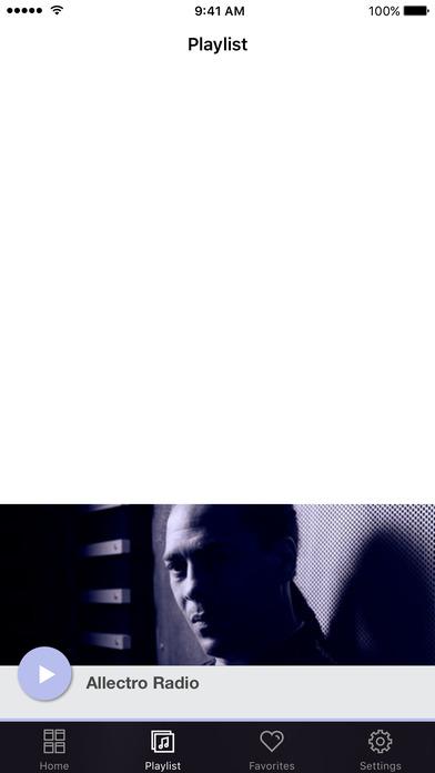 Allectro Radio screenshot 2