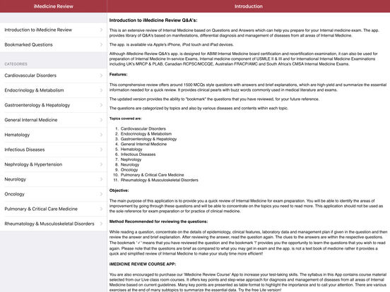 iMedicine Review iPad Screenshot 1