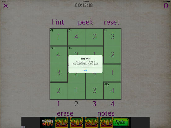 Sudoku Math iPad Screenshot 3
