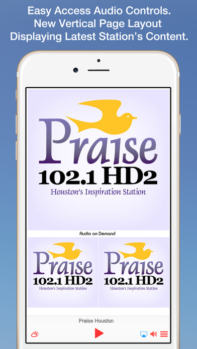 Praise 92.1 iPhone Screenshot 1