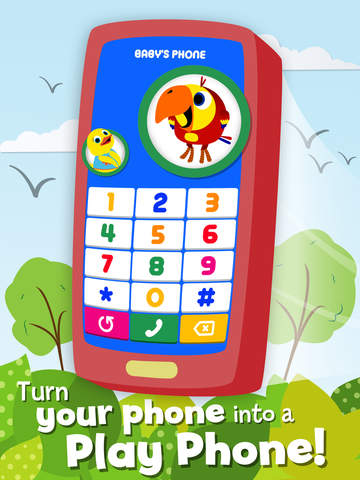 Play Phone for Kids - Educational Toy Phone: Learn Numbers & Sounds - Educational App