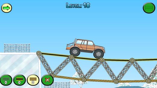 Frozen bridges - Bridge construction simulator Screenshots