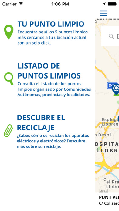Puntos Limpios screenshot 4