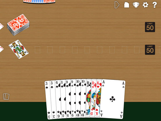 Canasta LITE iPad Screenshot 1