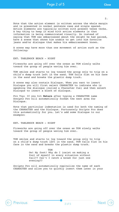 Scripts Pro iPhone Screenshot 5