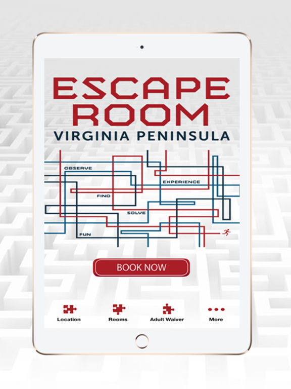app shopper escape room virginia peninsula games