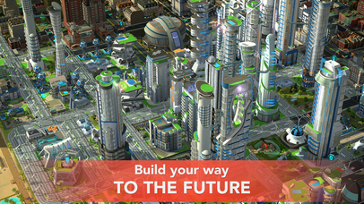 Screenshots of SimCity BuildIt for iPhone