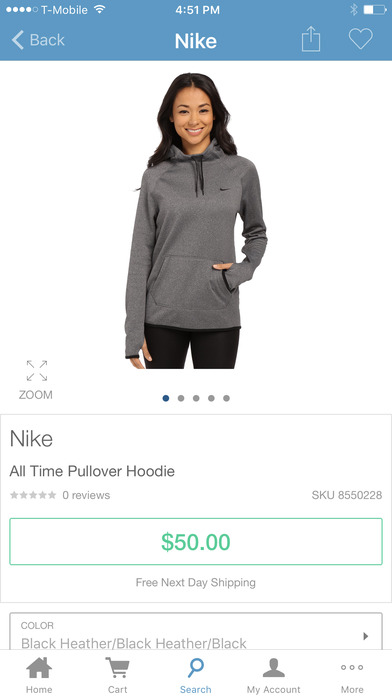 Zappos - shoes, clothes, fast and free shipping screenshot