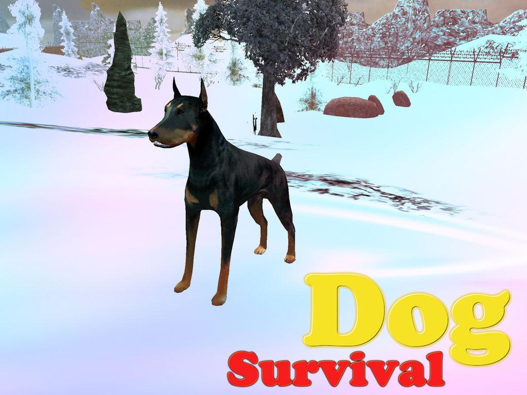 狗生存模拟器 - 三维动物模拟游戏